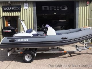 Rib / Inflatable Brig Eagle 4 used - THE WOLF ROCK BOAT COMPANY