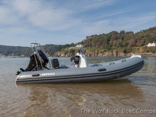 Rib / Inflatable Brig Falcon Rider 420 used - THE WOLF ROCK BOAT COMPANY