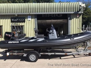Rib / Inflatable Brig Navigator 570 used - THE WOLF ROCK BOAT COMPANY